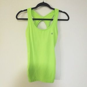 Champion | Neon Lime Green Workout Tank